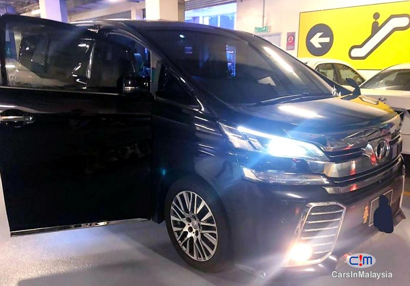 Picture of Toyota Vellfire 2.5-LITER LUXURY 7 SEATER FAMILY MPV Automatic 2016