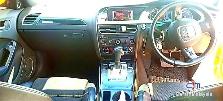 Audi A4 2.0-LITER LUXURY TURBO SEDAN Automatic 2012 in Malaysia