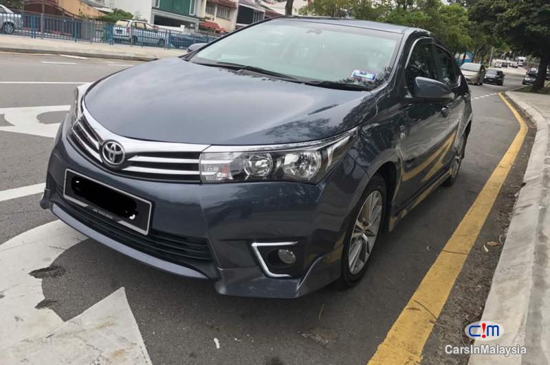 Pictures of Toyota Altis Automatic 2015