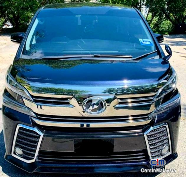 Picture of Toyota Vellfire 2.5-LITER 7 SEATER LUXURY FAMILY MPV Automatic 2018