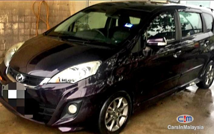 Perodua Alza Touch Screen Leather Seat Full Spec Automatic 2014 in Malaysia