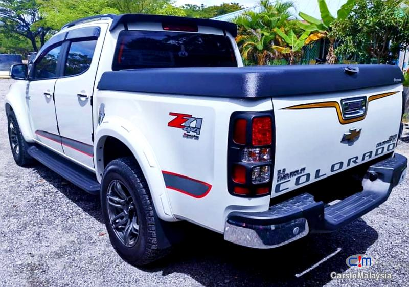 Chevrolet Colorado 2.8-LITER 4x4 DOUBLE CAB DIESEL TURBO Automatic 2017 in Malaysia