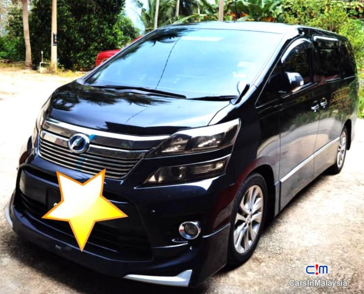 Picture of Toyota Vellfire 2.4-LITER LUXURY FAMILY MPV Automatic 2015