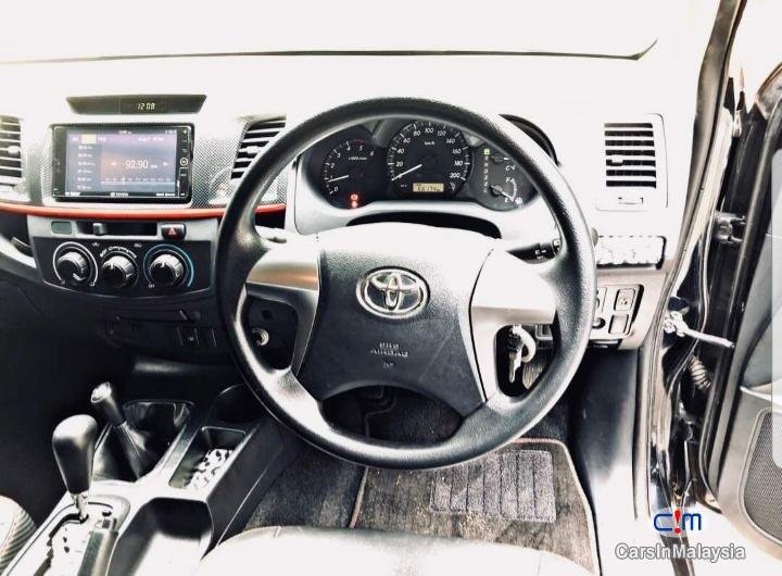 Toyota Hilux 4WD TRD SPORTIVO Automatic 2016 in Malaysia - image