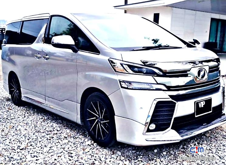 Toyota Vellfire 2.5-LITER LUXURY FAMILY SUV Automatic 2015 in Selangor