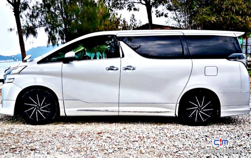 Toyota Vellfire 2.5-LITER LUXURY FAMILY SUV Automatic 2015 in Malaysia