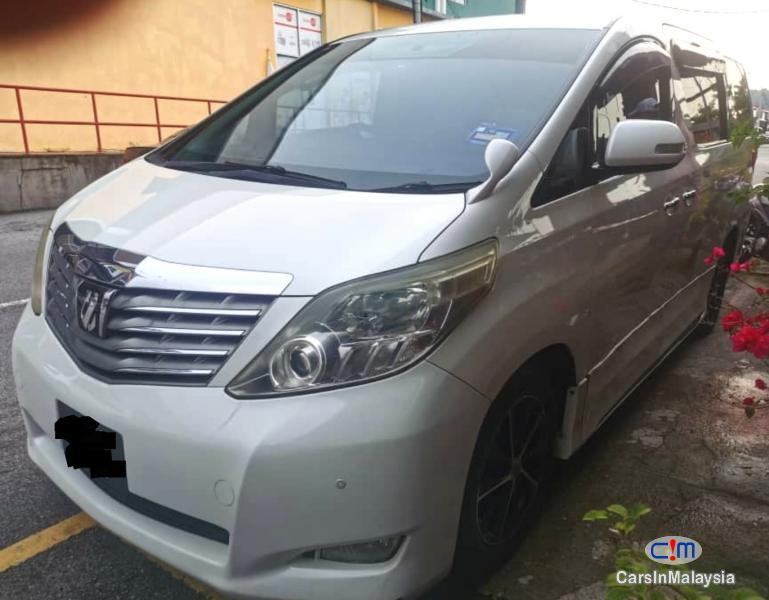 Picture of Toyota Alphard 2.4-LITER LUXURY FAMILY MPV Automatic 2012