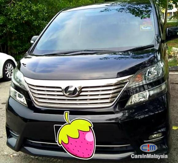 Picture of Toyota Vellfire 2.4-LITER LUXURY FAMILY MPV Automatic 2014