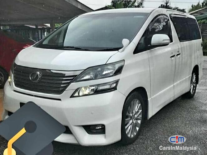 Picture of Toyota Vellfire 2.4-Liter Luxury Family MPV 7 Seater Automatic 2015