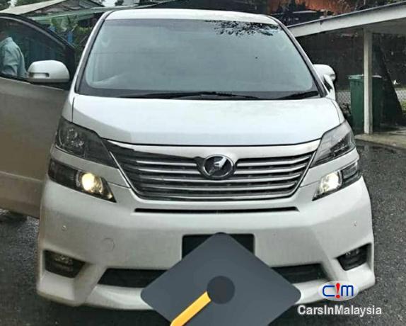 Toyota Vellfire 2.4-Liter Luxury Family MPV 7 Seater Automatic 2015 in Selangor