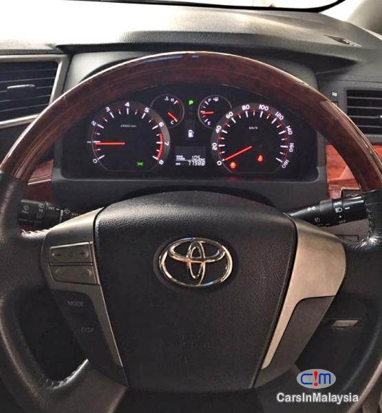 Toyota Vellfire 2.4-Liter Luxury Family MPV 7 Seater Automatic 2015 in Malaysia