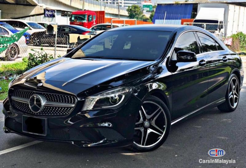 Mercedes Benz CLA180 1.8-LITER LUXURY SPORT SEDAN Automatic 2018 in Kuala Lumpur