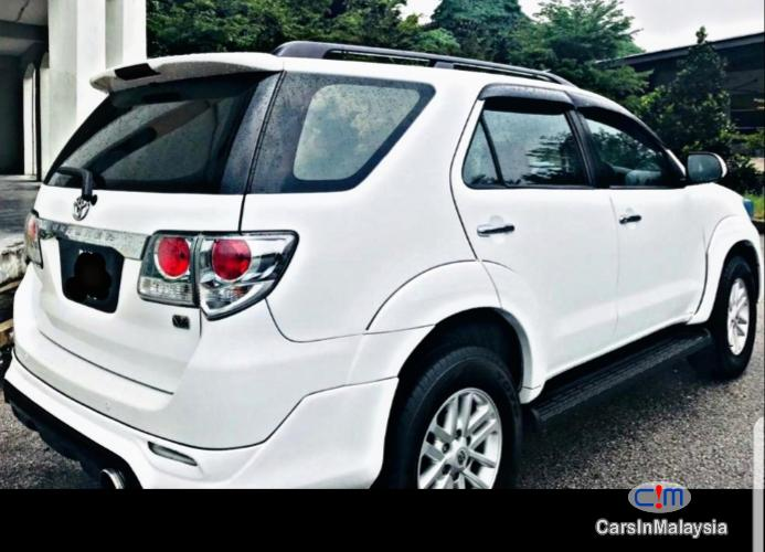 Toyota Fortuner SUV 7 SEATER Automatic 2012