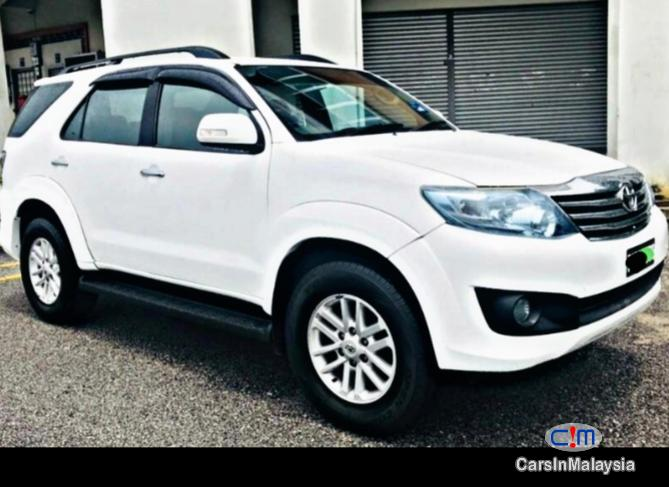 Toyota Fortuner SUV 7 SEATER Automatic 2012 in Malaysia