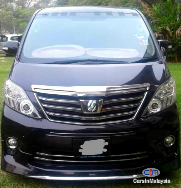 Picture of Toyota Alphard 2.4-LITER LUXURY FAMILY MPV Automatic 2013