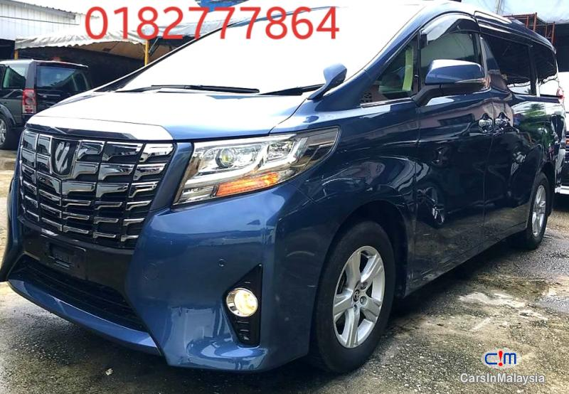 Toyota Alphard 2.5-LITER LUXURY FAMILY SUV Automatic 2016 in Selangor