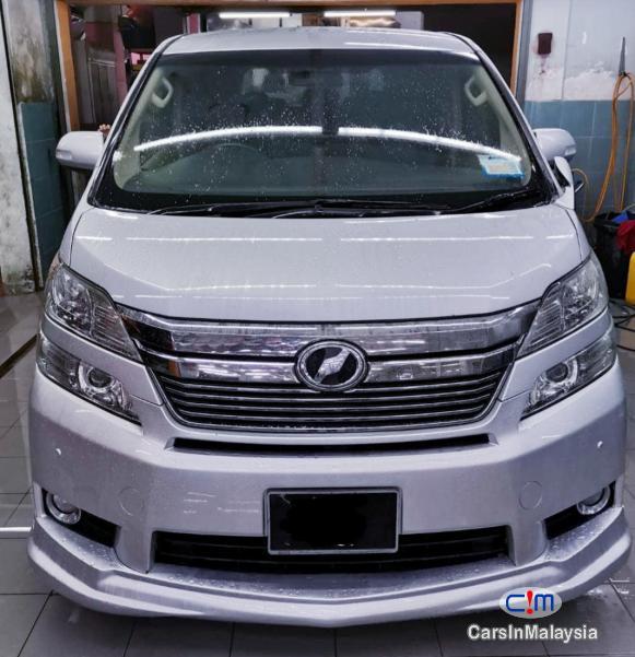 Toyota Vellfire 2.4-LITER LUXURY FAMILY MPV Automatic 2017 in Malaysia