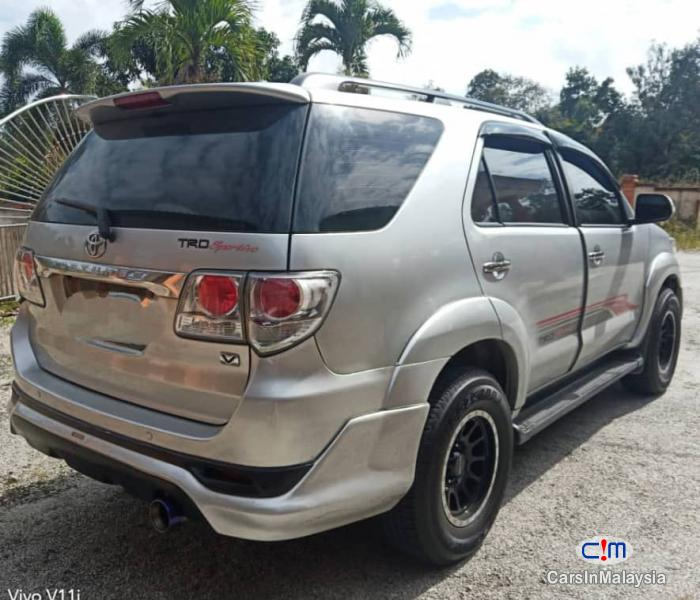 Picture of Toyota Fortuner 2.7-LITER 4WD SUV TURBO SPORTIVO TRD Automatic 2013