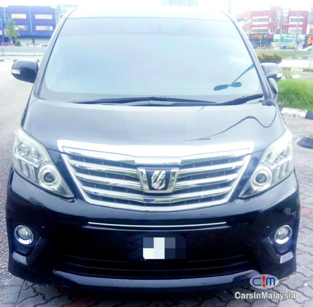Picture of Toyota Alphard 2.4-LITER PILOT SEATS LUXURY FAMILY MPV Automatic 2017
