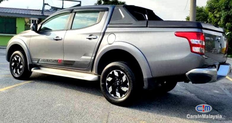 Mitsubishi Triton 2.4-LITER 4WD DOUBLE CAB 4X4 DIESEL TURBO Automatic 2017