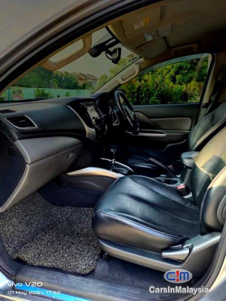 Mitsubishi Triton 2.4-LITER 4WD DOUBLE CAB 4X4 DIESEL TURBO Automatic 2017 in Malaysia - image