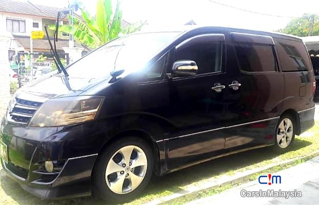 Toyota Alphard 2.4-LITER LUXURY FAMILY MPV Automatic 2008