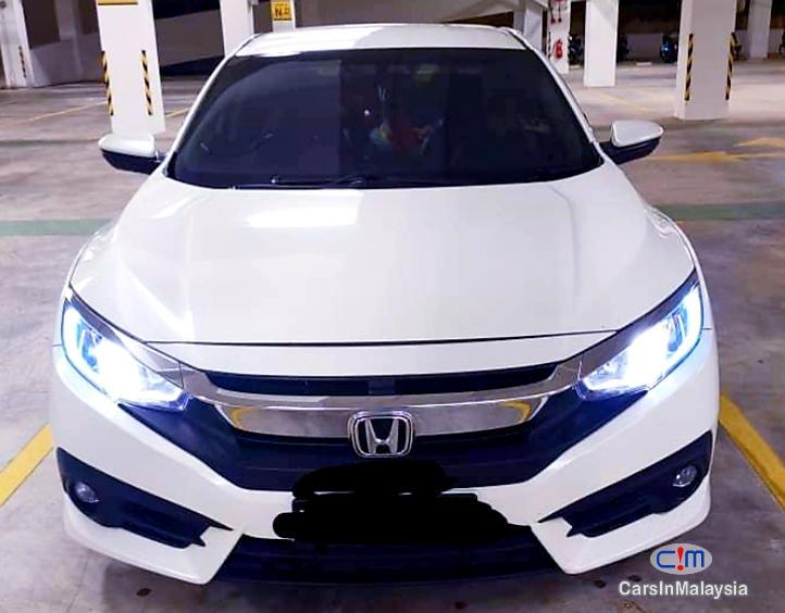 Honda Civic 1.5-LITER TURBO SPORTY SEDAN Automatic 2016