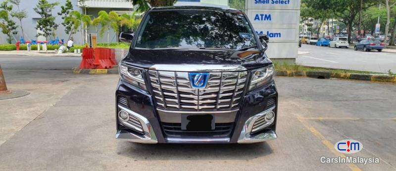 Picture of Toyota Vellfire Zg Manual 2015