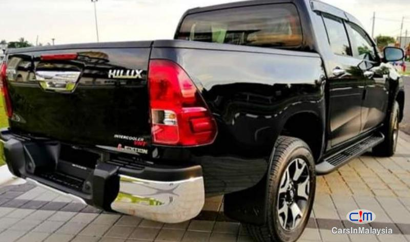 Toyota Hilux 2.4-LITER NEW 4X4 DIESEL TURBO DOUBLE CAB CHASSIS Automatic 2020 in Malaysia