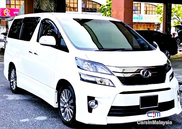 Picture of Toyota Vellfire 2.4-LITER GOLDEN EYES 7 SEATER LUXURY FAMILY MPV Automatic 2016