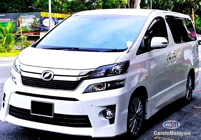 Toyota Vellfire 2.4-LITER GOLDEN EYES 7 SEATER LUXURY FAMILY MPV Automatic 2016 in Selangor