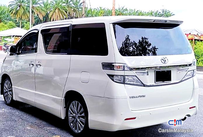 Toyota Vellfire 2.4-LITER GOLDEN EYES 7 SEATER LUXURY FAMILY MPV Automatic 2016 in Malaysia