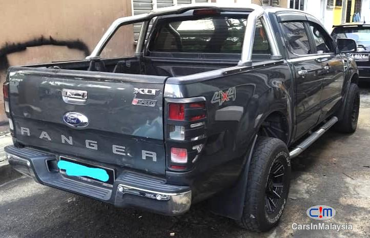 Ford Ranger 2.2-LITER 4WD DOUBLE CAB CHASIS DIESEL TURBO Automatic 2016