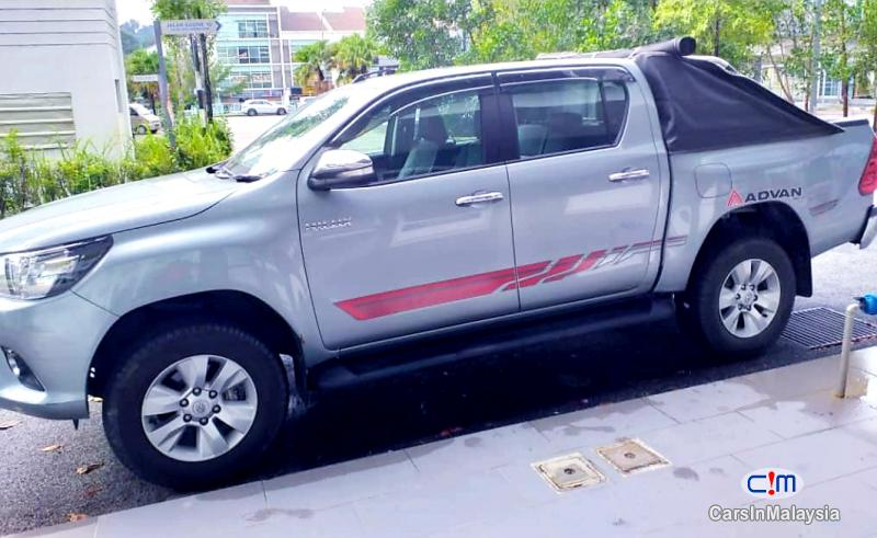 Toyota Hilux 2.8-LITER 4x4 DOUBLE CAB DIESEL TURBO Automatic 2016 in Selangor