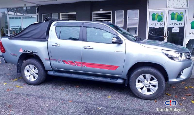 Toyota Hilux 2.8-LITER 4x4 DOUBLE CAB DIESEL TURBO Automatic 2016 in Malaysia