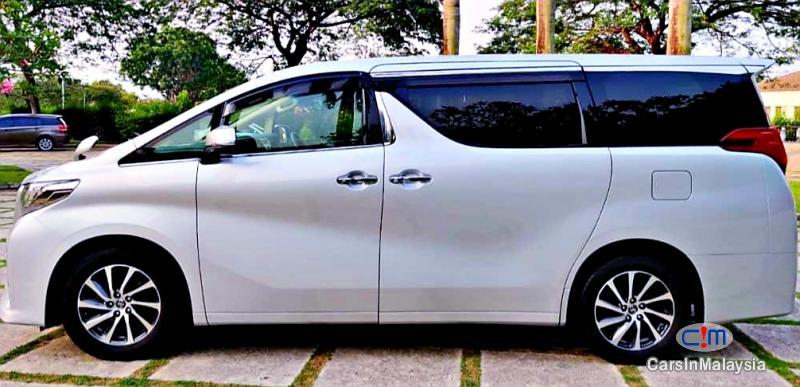 Toyota Alphard 2.5-LITER 7 SEATER LUXURY FAMILY MPV Automatic 2019