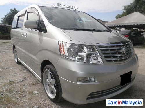 Pictures of Toyota Alphard Automatic 2009