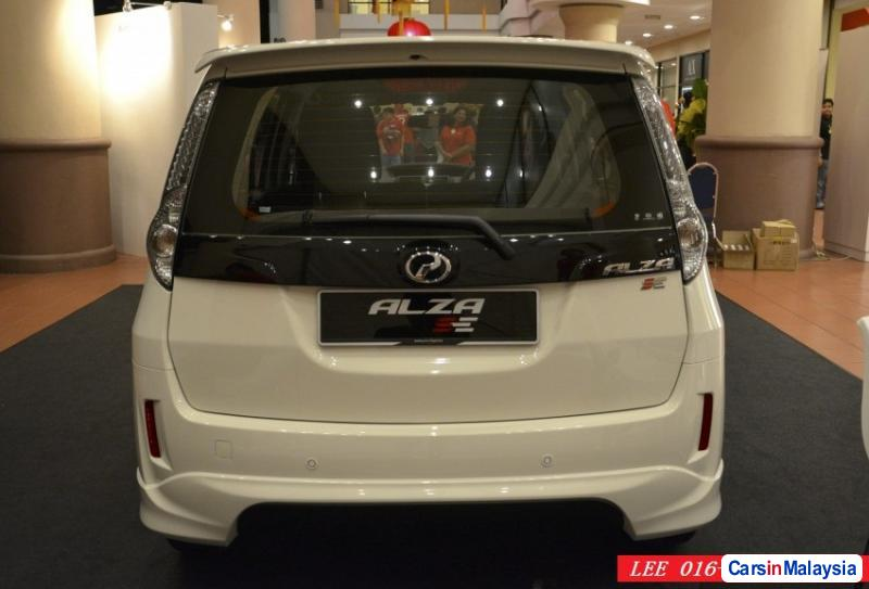 Perodua Alza in Kuala Lumpur