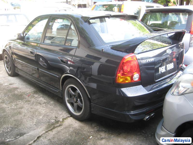 Hyundai Accent Automatic 2005 in Penang