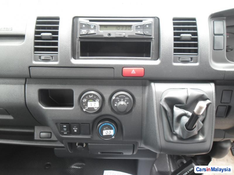 Picture of Toyota Hiace Manual in Malaysia