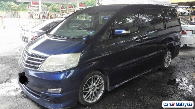 Pictures of Toyota Alphard Automatic 2011