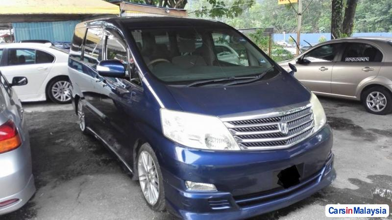 Toyota Alphard Automatic 2011