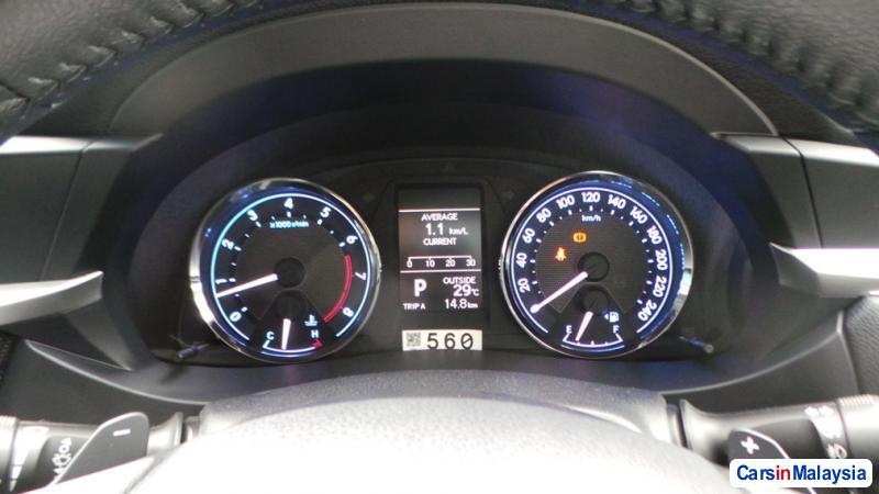 Toyota Altis Semi-Automatic in Malaysia