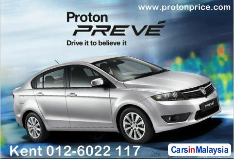 Picture of Proton Preve Semi-Automatic