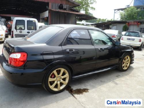 Subaru WRX STi Manual 2004