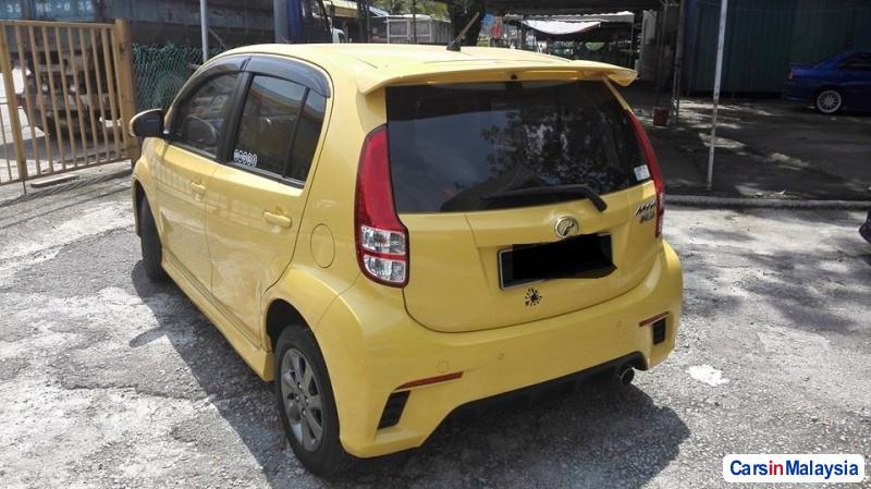 Perodua Myvi Manual 2014 in Malaysia