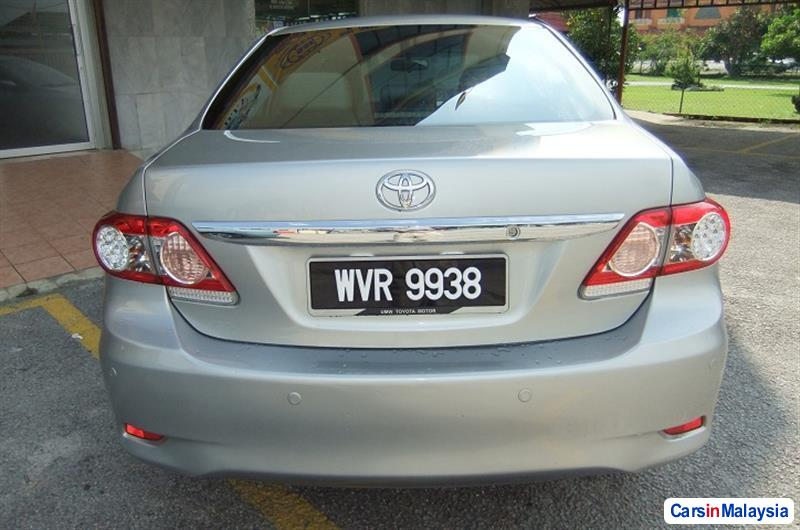 Toyota Altis 2011 in Malaysia