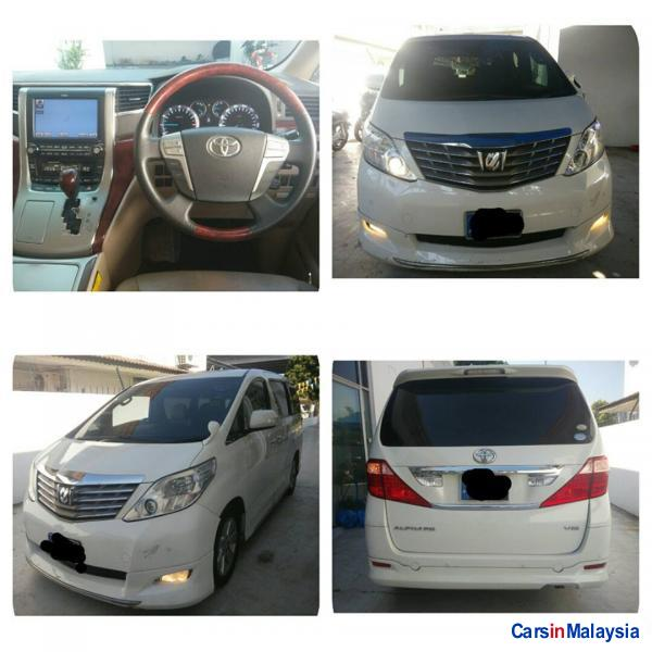 Picture of Toyota Alphard Automatic 2008
