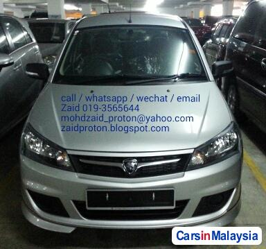Picture of Proton Saga Semi-Automatic