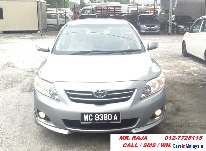 Picture of Toyota Altis Automatic 2009